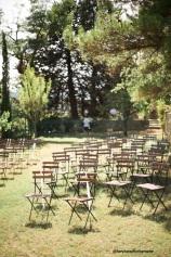 Chaises square bois